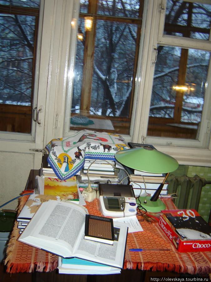 В комнате Н. Груздевой