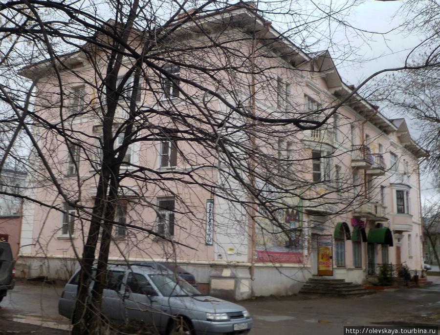 Дом Старичковой. Здесь располагался частный музей Рубцова.