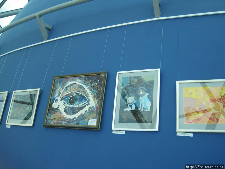 Выставка детских работ в Ярославском планетарии