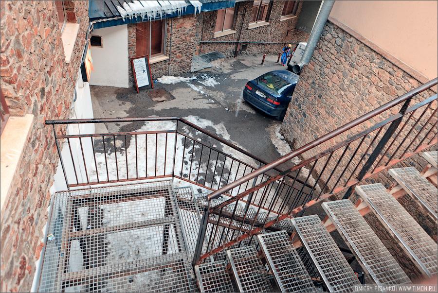Проклятая лестница