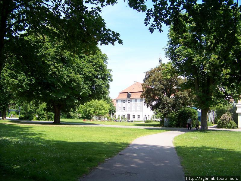 Парк вокруг Римского музея
