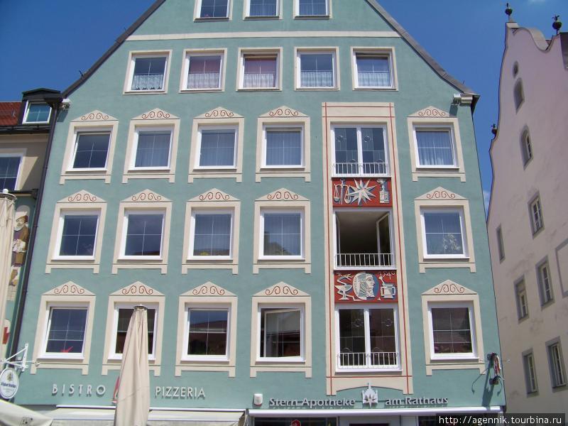 Дома на ратушной площади