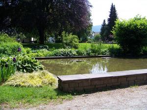 Парк возле вокзала