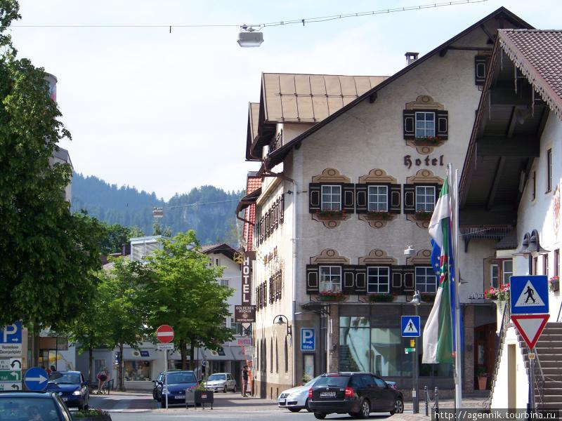 Магазины в пешеходной зоне