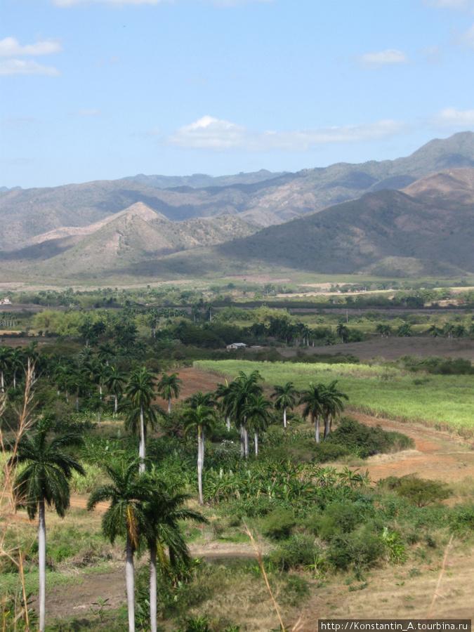 долина по дороге от Тринидад до Санта Спиритуса-2