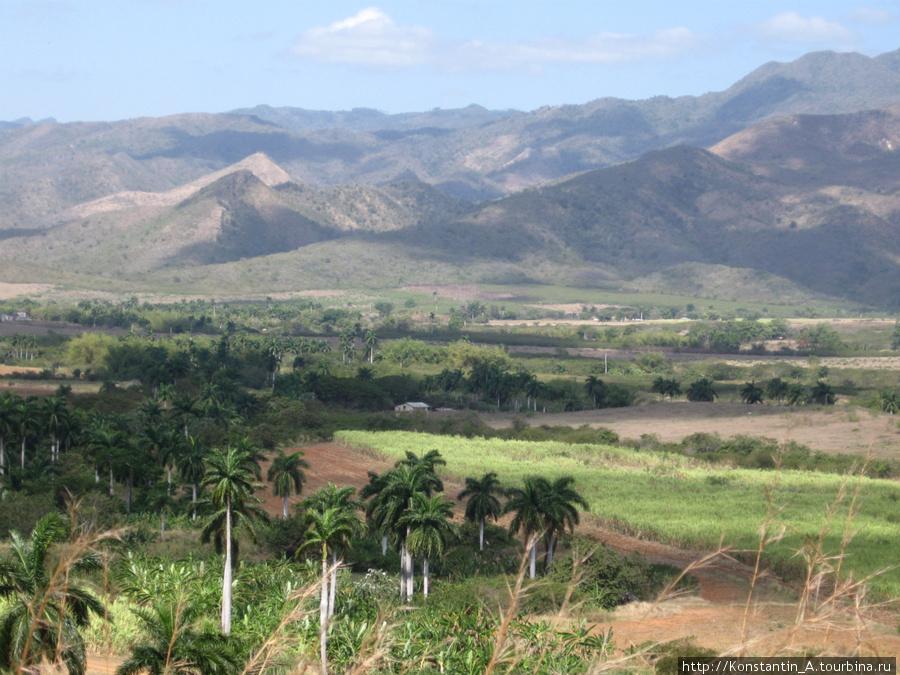 долина по дороге от Тринидад до Санта Спиритуса-5