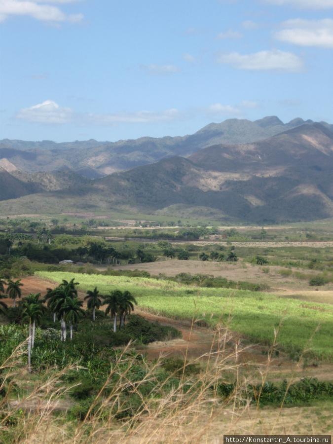 долина по дороге от Тринидад до Санта Спиритуса-4