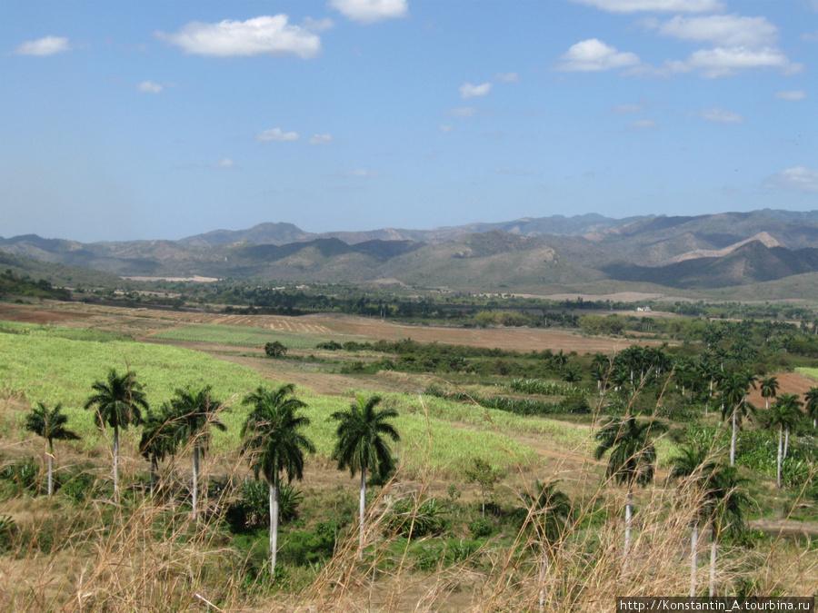 долина по дороге от Тринидад до Санта Спиритуса-3
