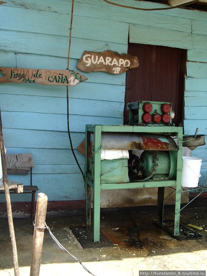 станок по изготовлению напитка из сахарного тростника