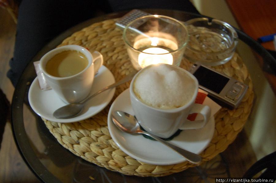 Кофе на любой вкус.