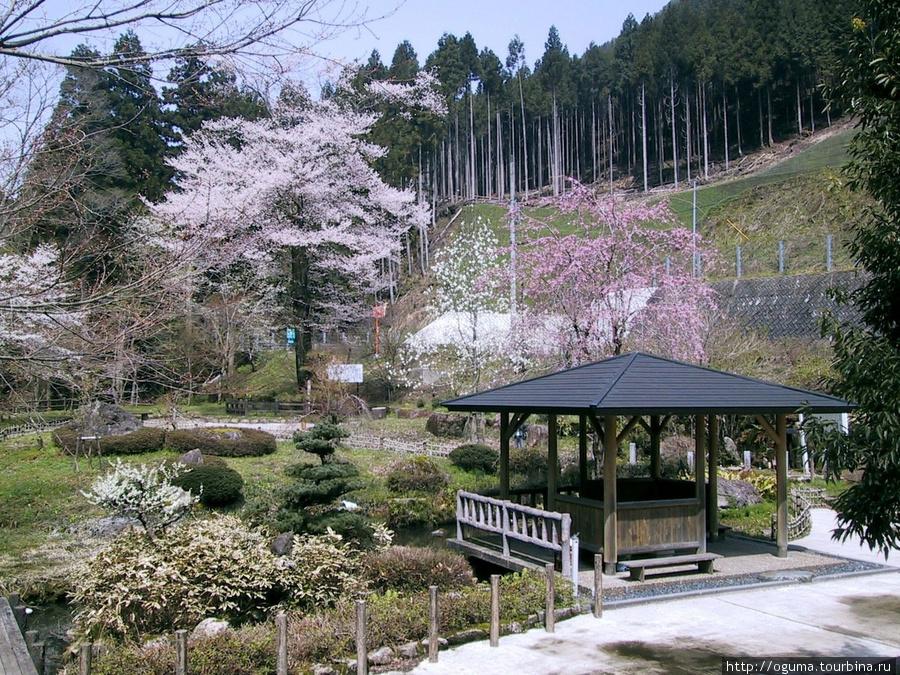 Просто небольшой парк на одной из горных дорог