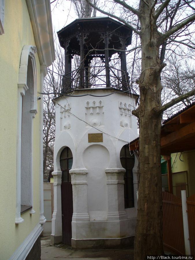 Водная обсерватория у кафе «Ливадия»