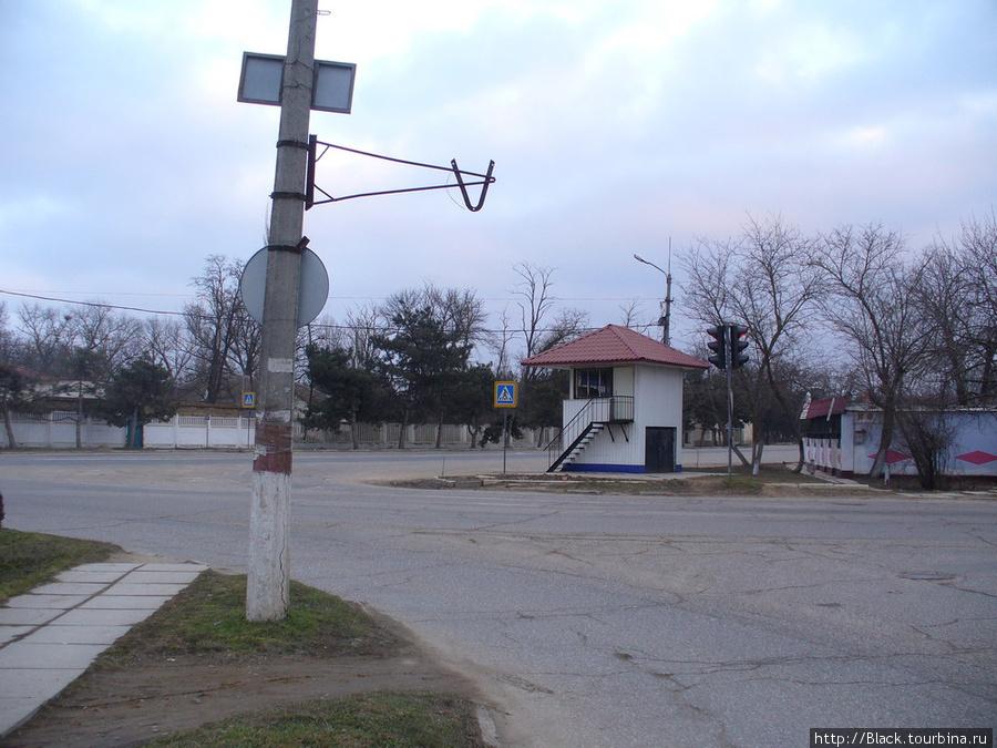 Перекресток Михайловского и Симферопольского шоссе