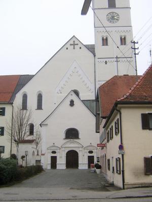 Церковь Св. Себастиана, построена в 1480 г.