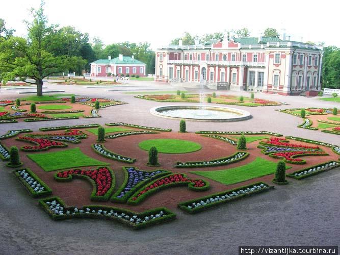 Таллинн. Парк и дворец Ка