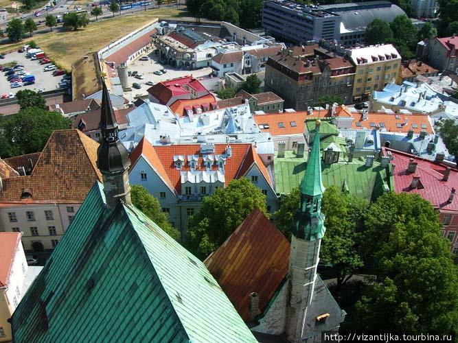 Таллинн. Панорама с крыши