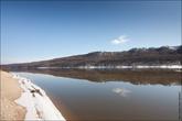 Вообще, тут очень красивые места — большой сосновый бор и изгиб реки.
