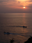 Восход над Тихим океаном