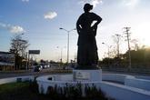Памятник в Эскарсеге