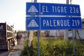 До Паленке еще 219 км