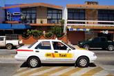Такси на центральной площади