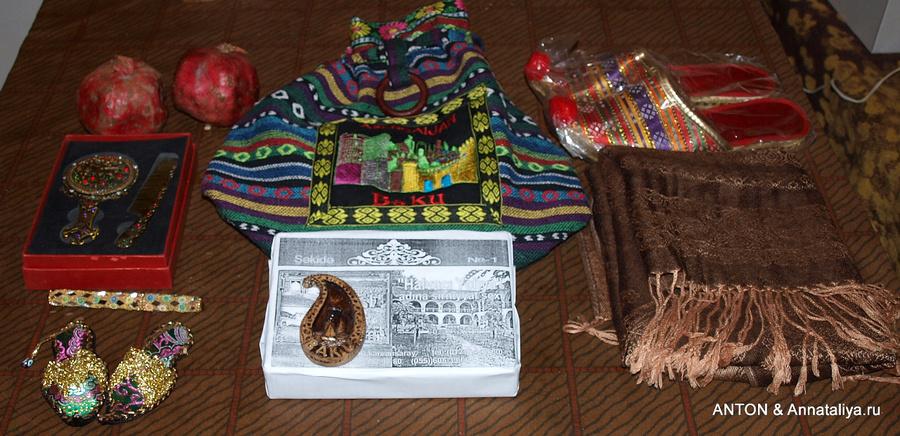 Подарки азербайджанцам 85
