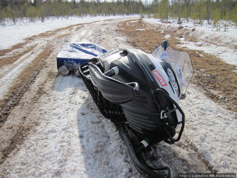 Это дорога НЕ для снегохода!