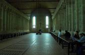 Трапезная в монастыре