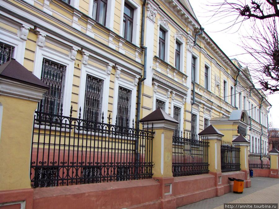 Рязанский областной (бывший окружной) суд.