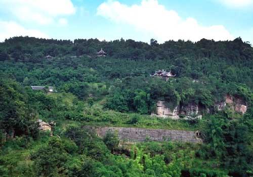 Вид на гору Бэйшань
