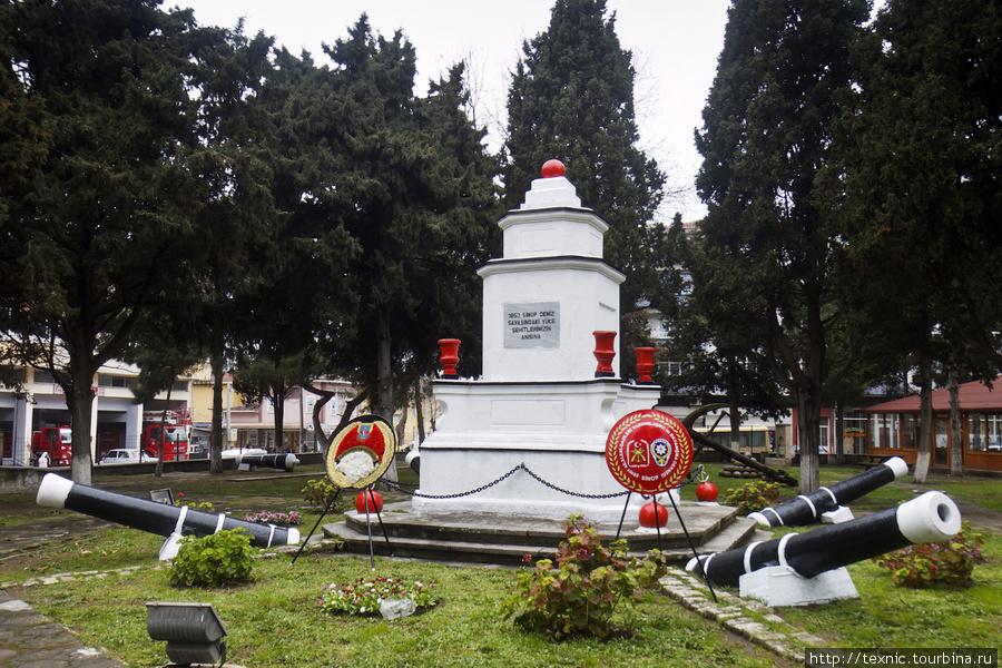 Памятник турецким солдата