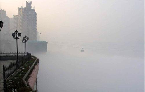 Град в туманах