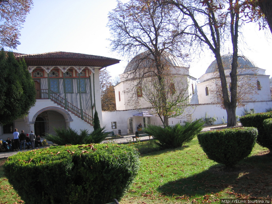 внутренний дворик Бахчисарайского сарая