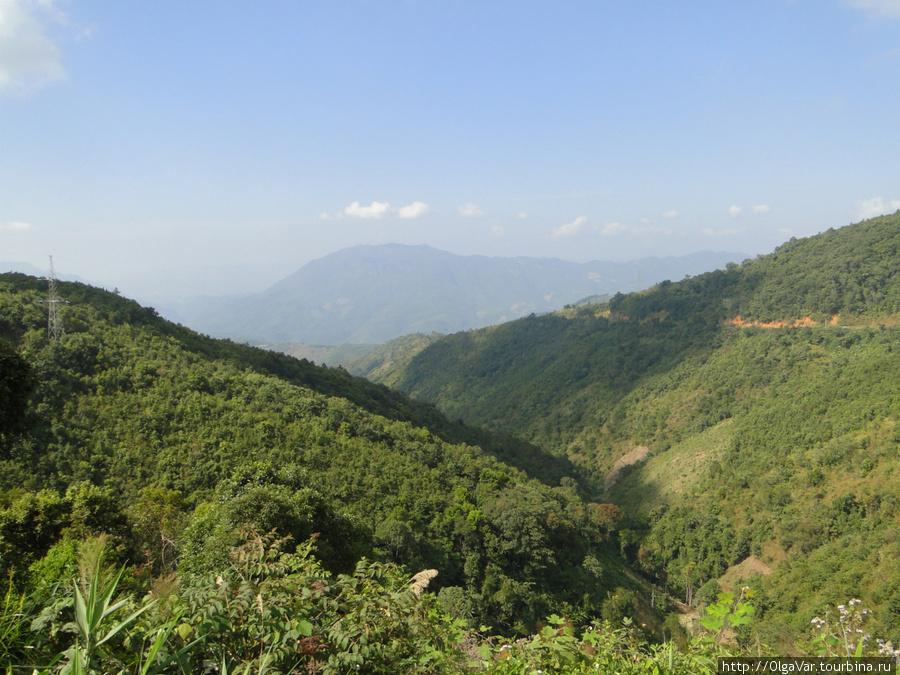 Местность становилась гор