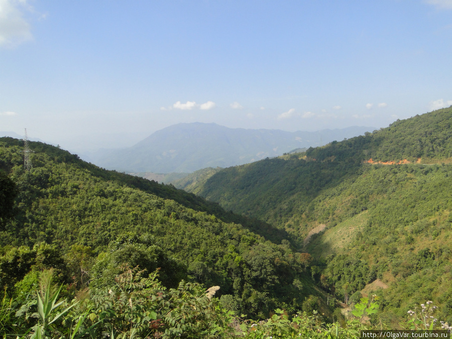 Местность становилась гористой с живописными долинами, покрытыми буйной растительностью.