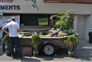 А вот товарищ продает бассейны, фонтаны и элементы ландшафтного дизайна