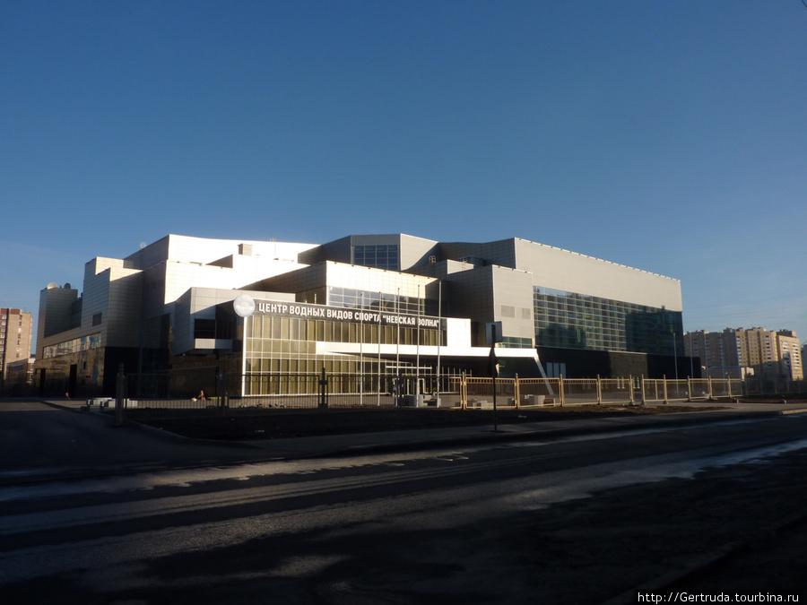Центр водных видов спорта на улице Джона Рида.