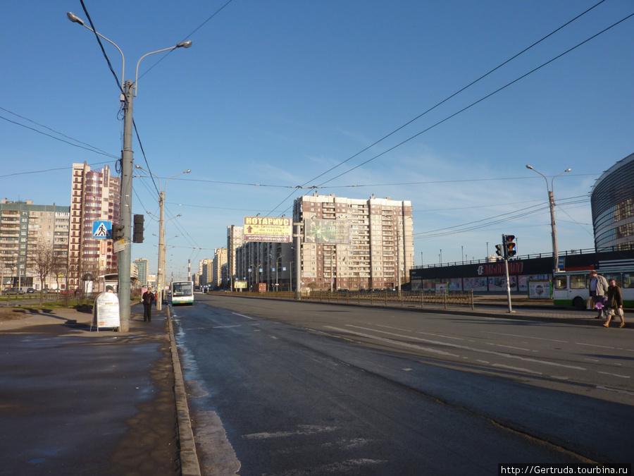 Начало Проспекта Пятилеток.