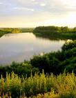 У излучины реки Тура