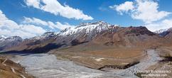 Панорама долины Спити, Химачал Прадеш, Индия