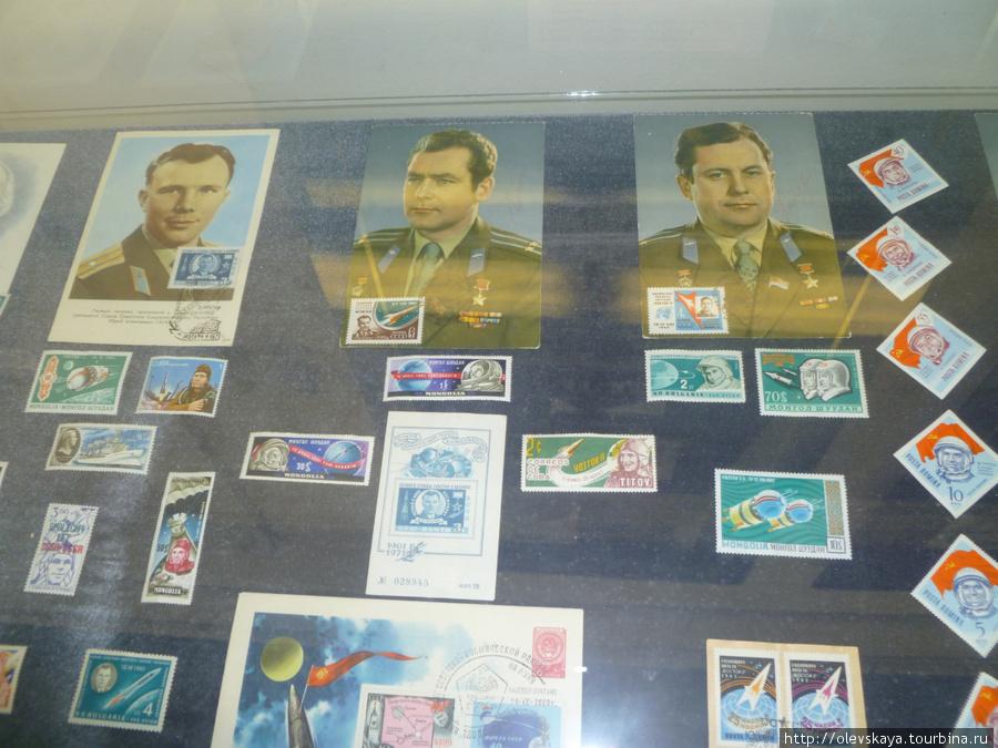 Открытки и марки, посвяще
