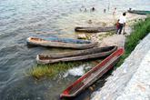 Лодки у набережной Тикаля