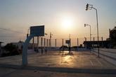 Баскетбольная площадка на центральной площади