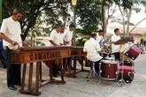 Музыканты на дегустации кофе