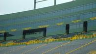Во время игр стадион заполнен до отказа