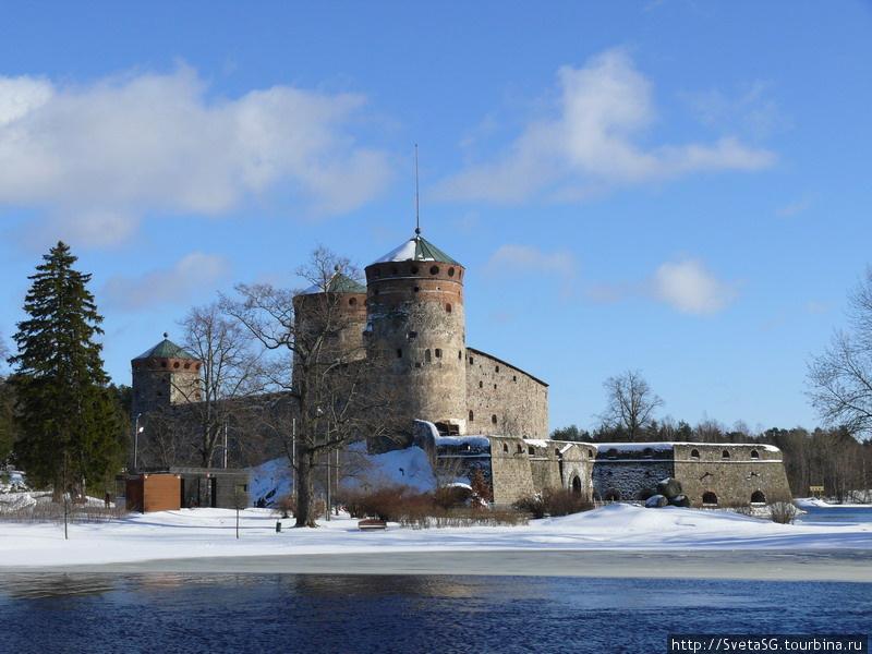 Крепость в Савонлинне.