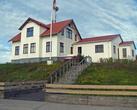 типичный дом западной Исландии