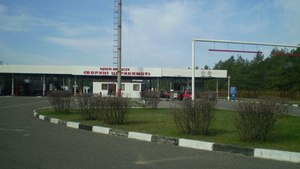 Беларусский погранпереход