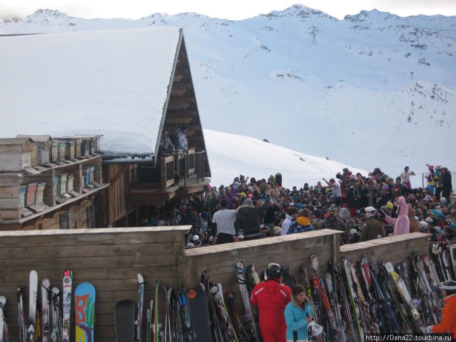 И снова апре-ски.
