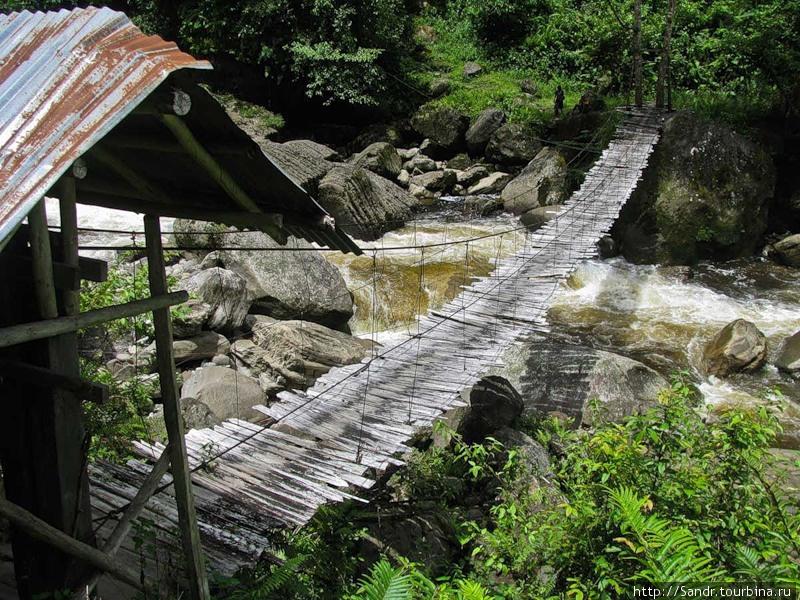 Мост в затерянный мир…